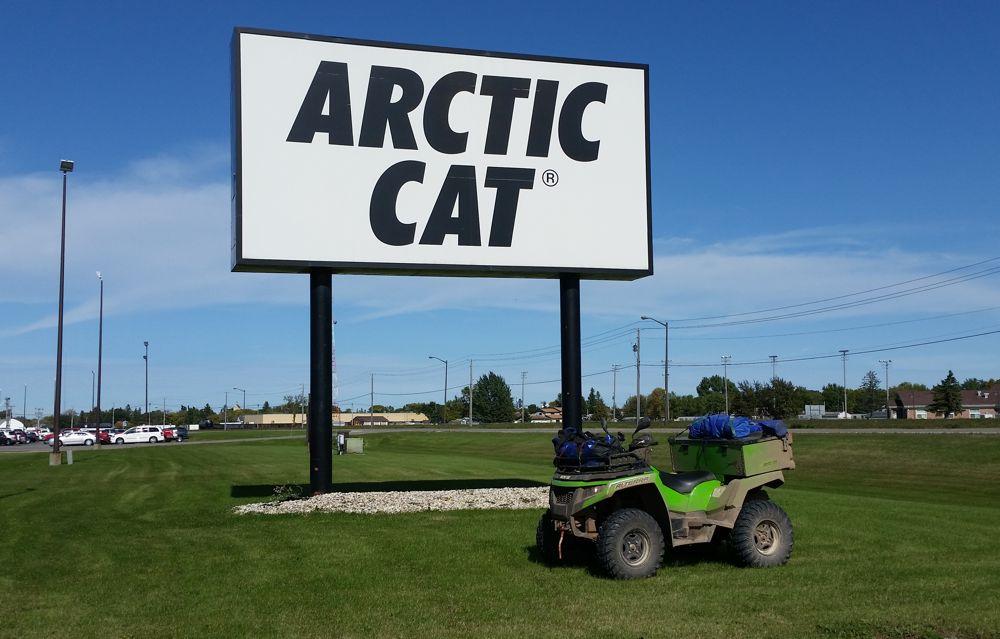 Brian Fandel's midwest Arctic Cat ATV adventure.