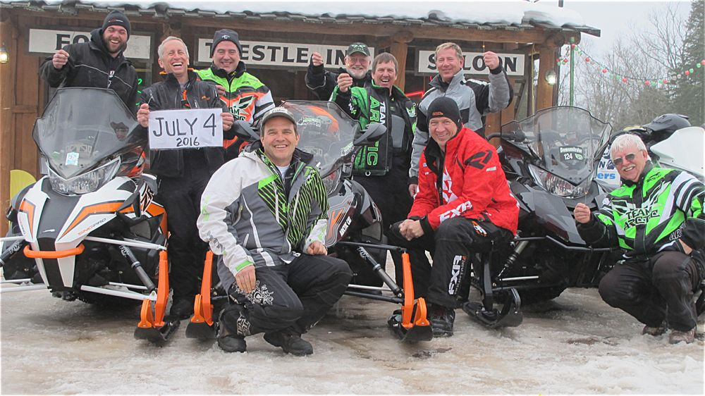 TGIF, snowmobiling and riding with the chumps