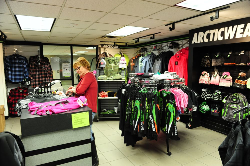 Arctic Cat Gift Shop in TRF. Photo by ArcticInsider.com