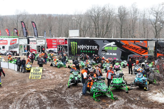 2016 ISOC Duluth snocross. Photo by ArcticInsider.com
