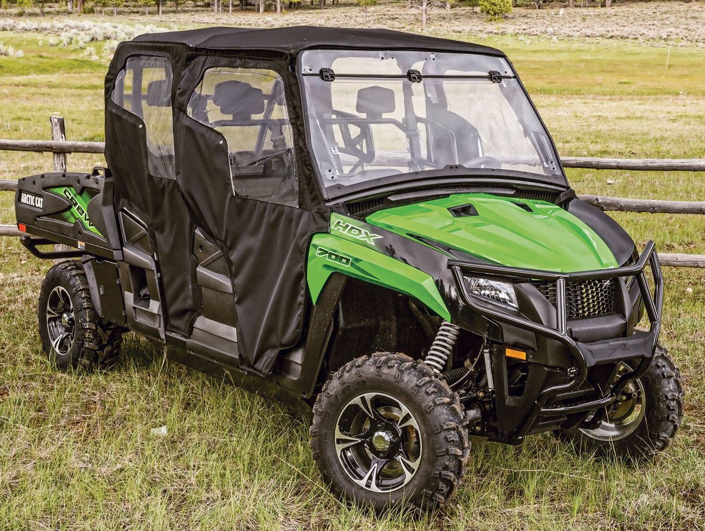 Arctic Cat HDX with Soft Cab Kit