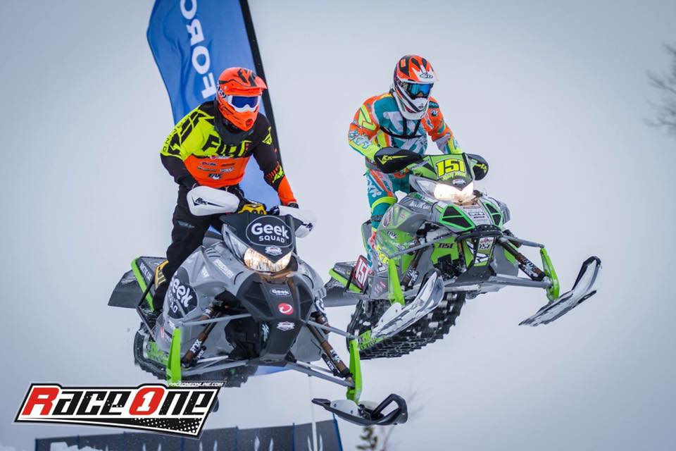 Team Arctic's AJ Stoffle (L) and Ryley Bester