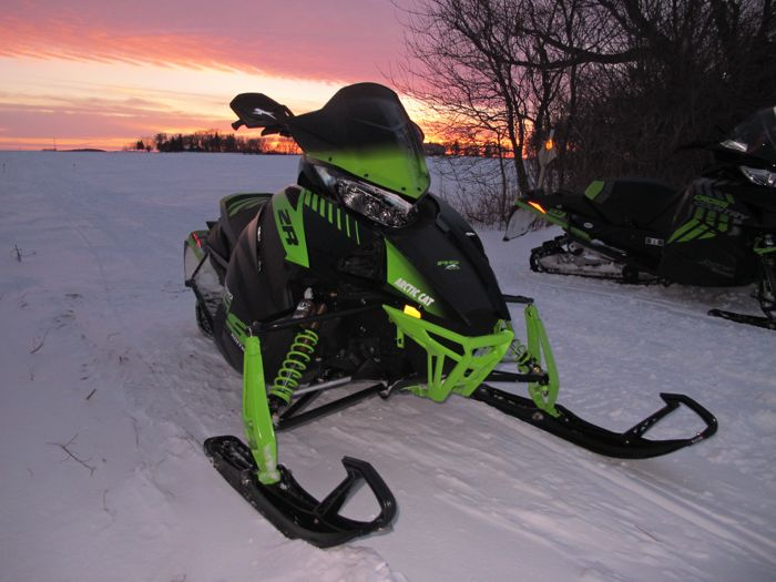 Snowmobiling with the Big Dogs in SE Minnesota.