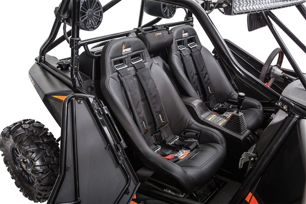 2017 Arctic Cat SPEED High Back Seats, Harness and Belt Bar.