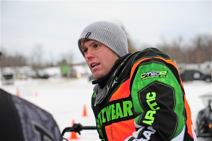 Team Arctic Cat champ Zach Herfindahl. Photo by ArcticInsider.com