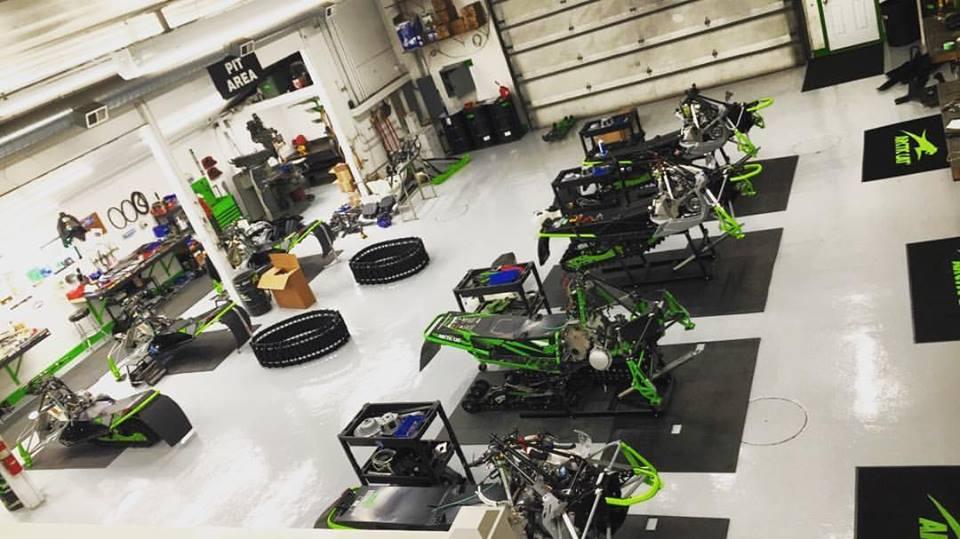 Inside the Christian Bros. Race shop