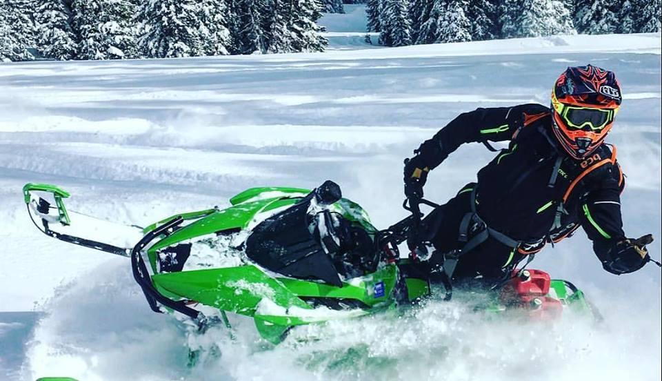 Zach Herfindahl, Team Arctic Cat's XC race winning machine.