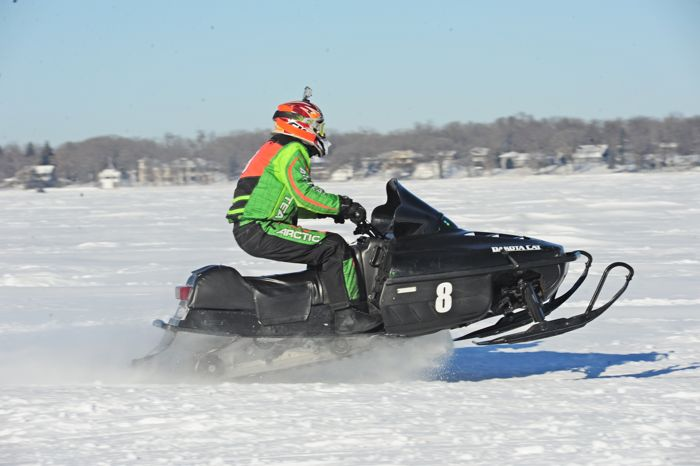 Team Arctic Cat's Steve Martinson. Photo by ArcticInsider.com