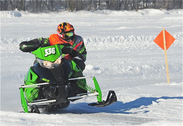 Team Arctic Cat's Nicholas Nyquist. Photo by ArcticInsider.com