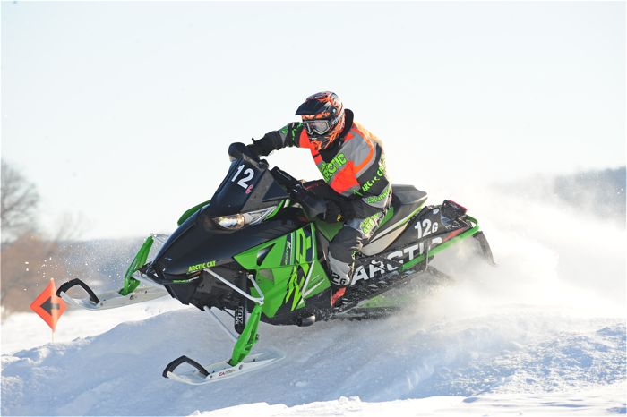Team Arctic Cat's Garet Grzadzielewski. Photo by ArcticInsider.com