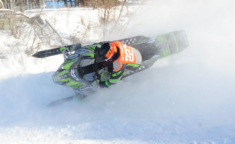 Team Arctic Cat's Tyler Oettinger. Photo by ArcticInsider.com