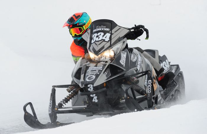 Team Arctic's Dalton Fredrickson. Photo by ArcticInsider.com