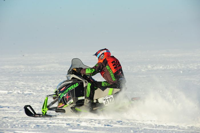 Team Arctic's Zach Herfindahl. Photo by ArcticInsider.com