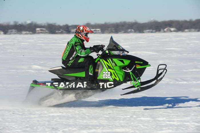 Team Arctic Cat's Marcus Herfindahl. Photo by ArcticInsider.com