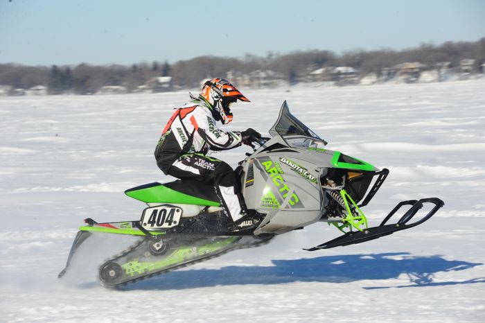 Team Arctic Cat's Erik Nymann. Photo by ArcticInsider.com