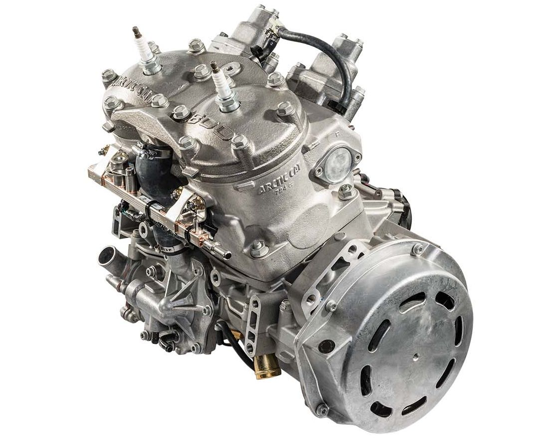Arctic Cat C-TEC2 800 engine for 2018. Photo at ArcticInsider.com