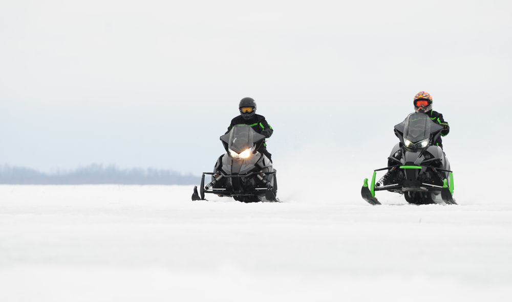 Testing the Arctic Cat C-TEC2 800 Engine. Photo by ArcticInsider.com