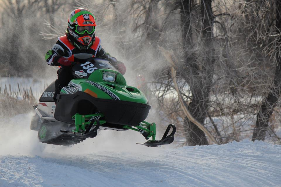 Team Arctic Cat's Jesse Hallstrom.
