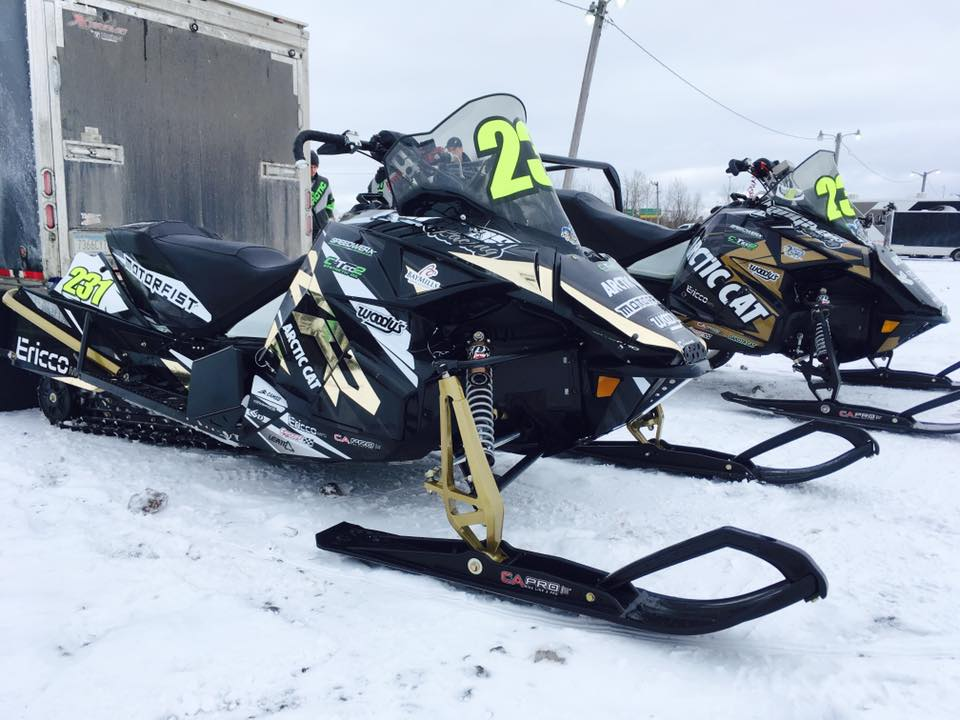 The Langaas Team Arctic Cat.