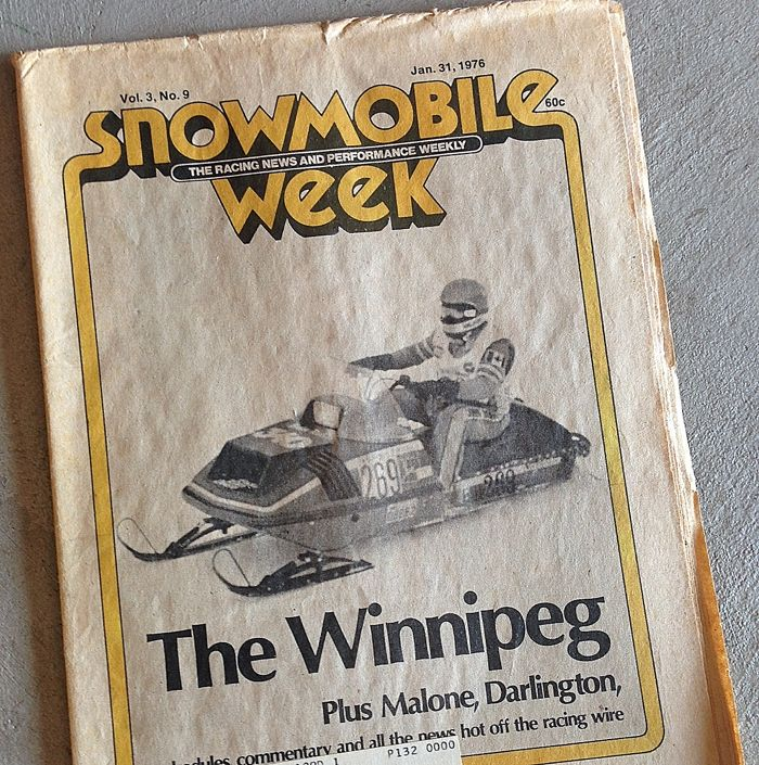 Snowmobile Week magazine