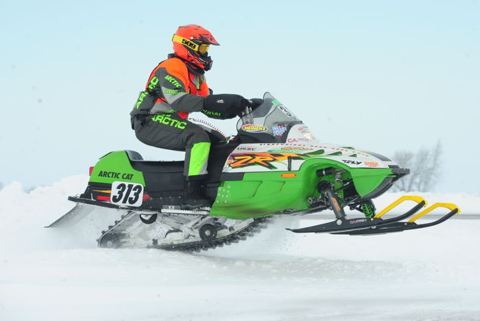Team Arctic Cat's Brian Brown. Photo by ArcticInsider.com