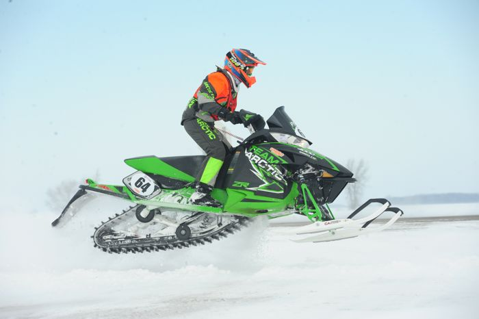 Team Arctic Cat's Andy Pake. Photo by ArcticInsider.com