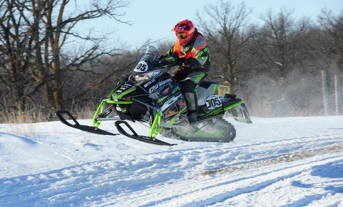 Team Arctic Cat's Ryan Trout. Photo by ArcticInsider.com