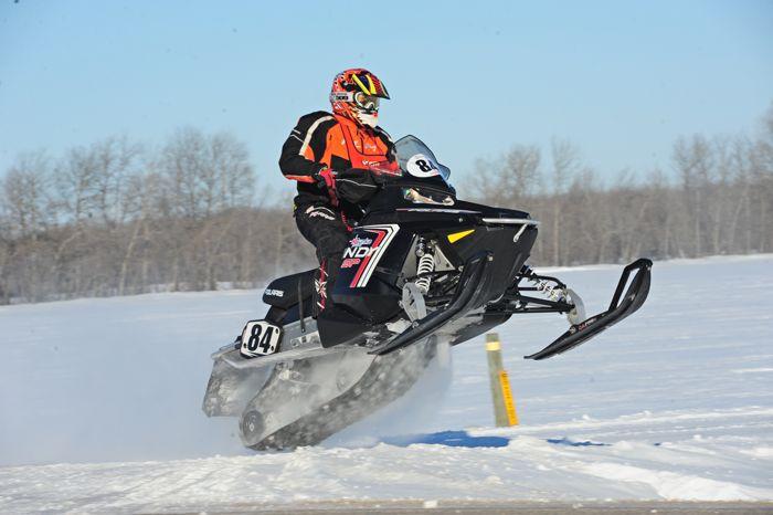 Polaris racer Eric Christensen. Photo by ArcticInsider.com