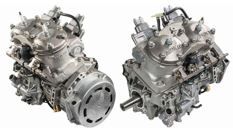 Arctic Cat C-TEC2 800 engine for 2018. Photo at ArcticInsider.com