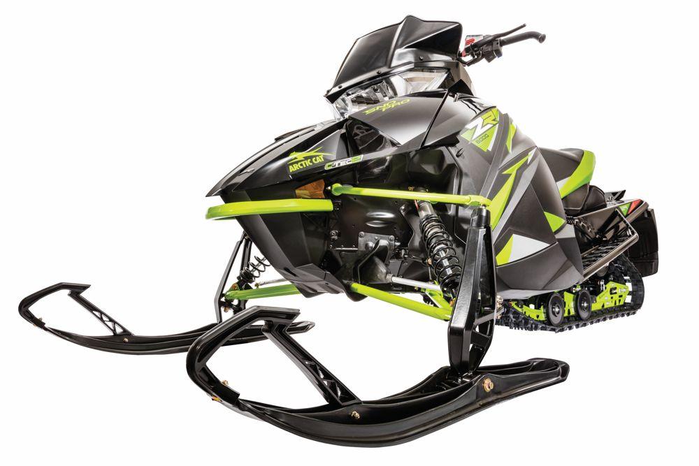 2018 Arctic Cat Next-Gen bodywork on snowmmobiles.