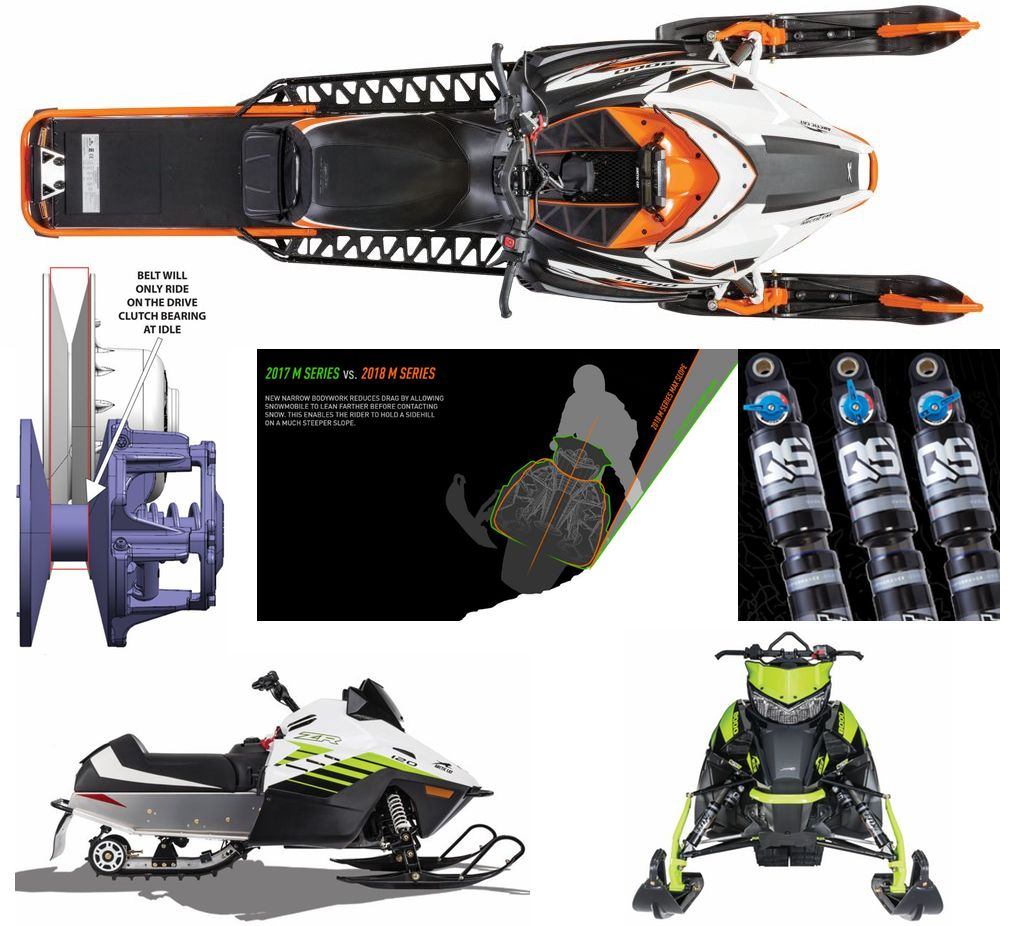 2018 Arctic Cat Snowmobile goodness.