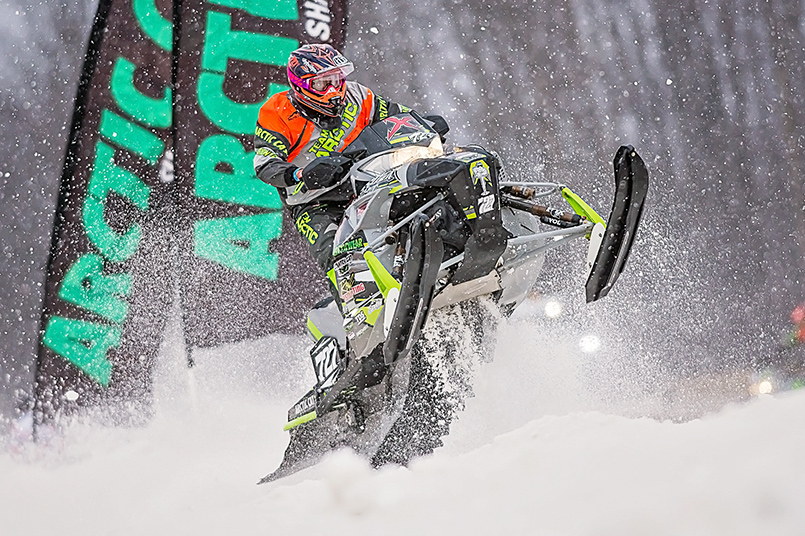 Team Arctic Cat - Christian Bros. Racing's Jacob Yurk. Photo by Lissa.