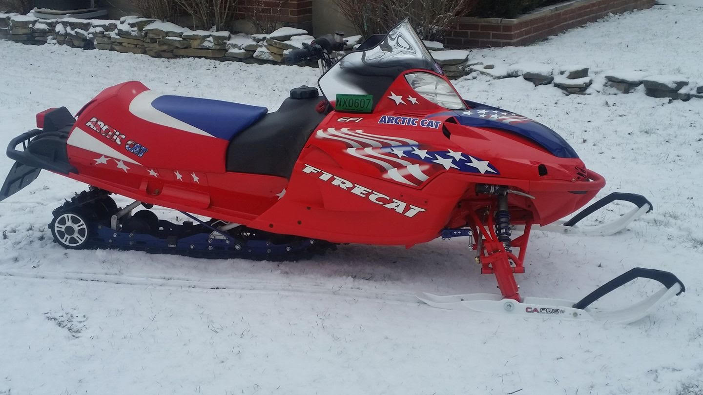 Mike Miller's 2004 Arctic Cat F6 Firecat Restoration