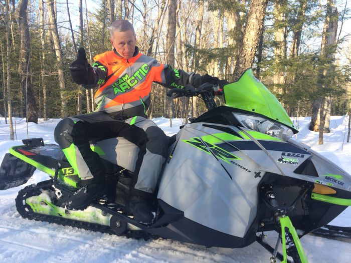 Ruining the last chance for winter by getting an Arctic Cat ZR 8000 with C-TEC2. ArcticInsider.com