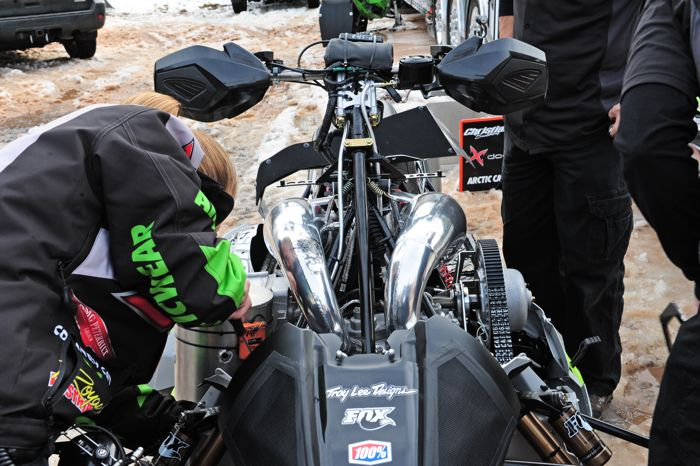 Pro Open Snocross sleds, when they were truly Open. Photo by ArcticInsider.com