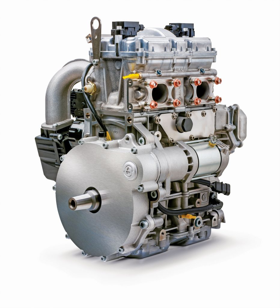Textron 850 4-stroke engine