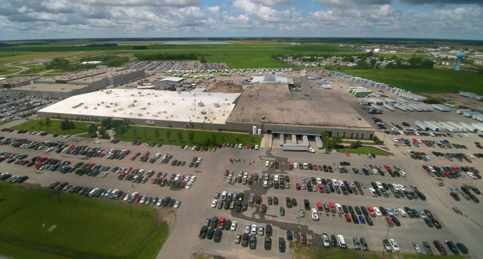 Arctic Cat manufacturing plant in Thief River Falls, Minn.