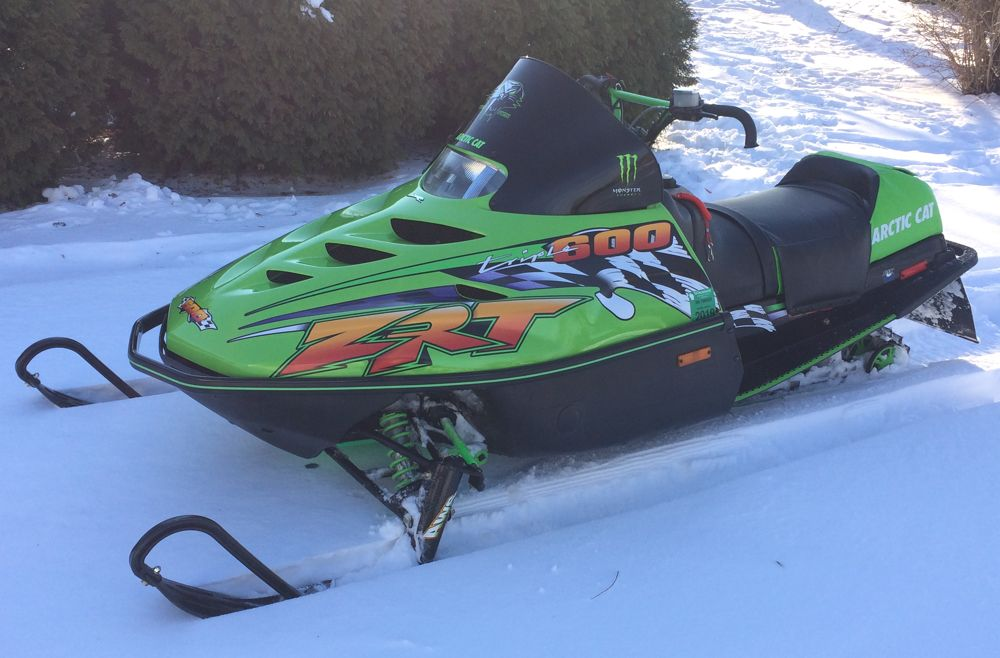 Doug Hanson's custom Arctic Cat ZRT 600