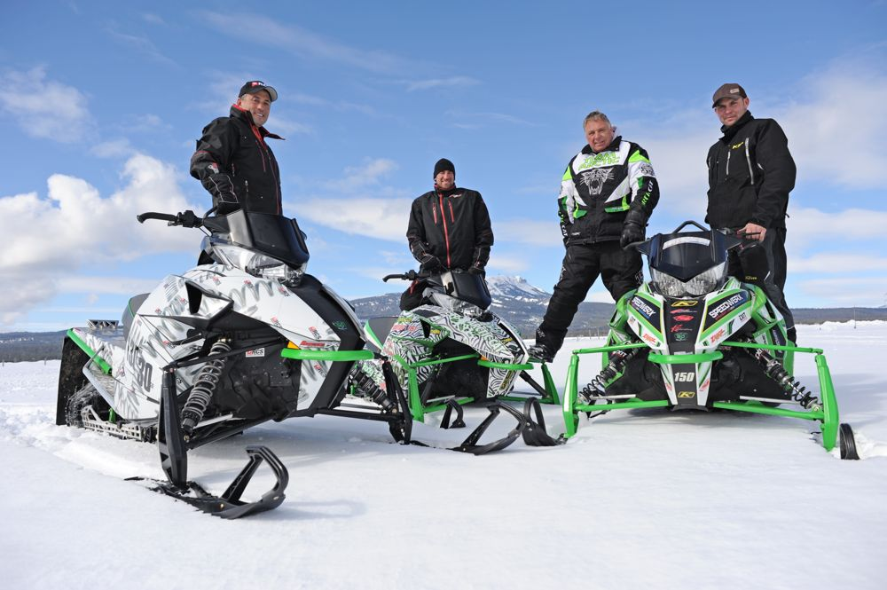 Team Arctic's Tupper, Kincaid, Shimpa & McClure. Photo by ArcticInsider.com