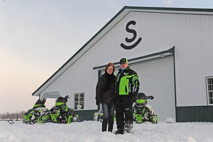 Roger and Bernice Skime. Photo by ArcticInsider.com
