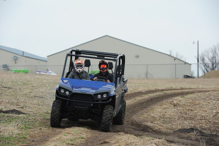 First ride on a Textron Stampede. Photo by ArcticInsider.com