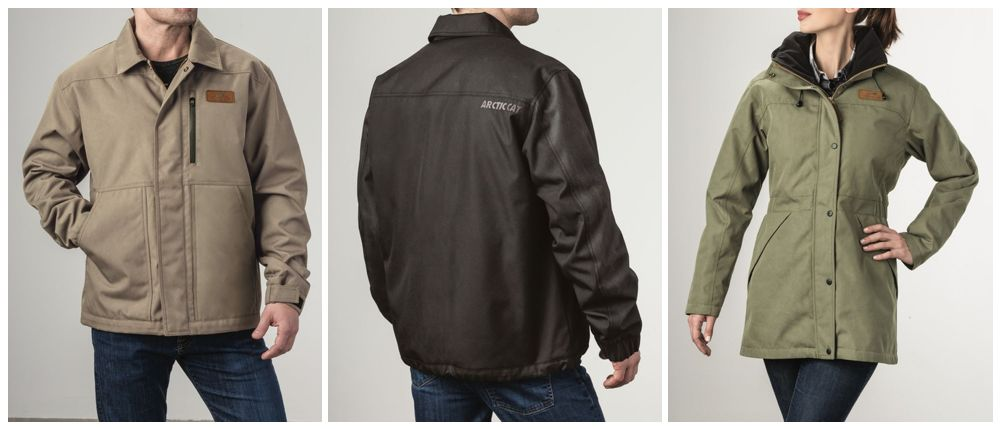 Arctic Cat Utility Jackets for 2018.