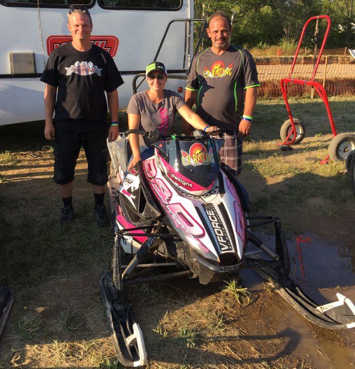 D&D Racing Team Arctic grass drag winners