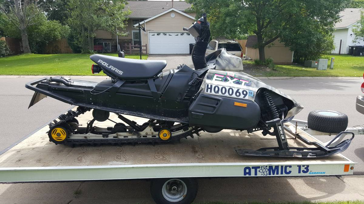 Custom stand-up Arctic Cat Prowler on Craig's wonderful list