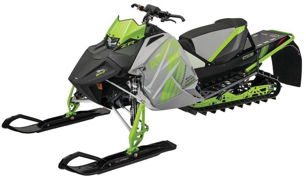 2018 Arctic Cat ZR 6000R SX snocross race sled.