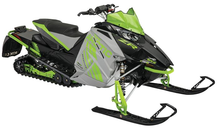 2018 Arctic Cat ZR 6000R XC cross-country race sled.