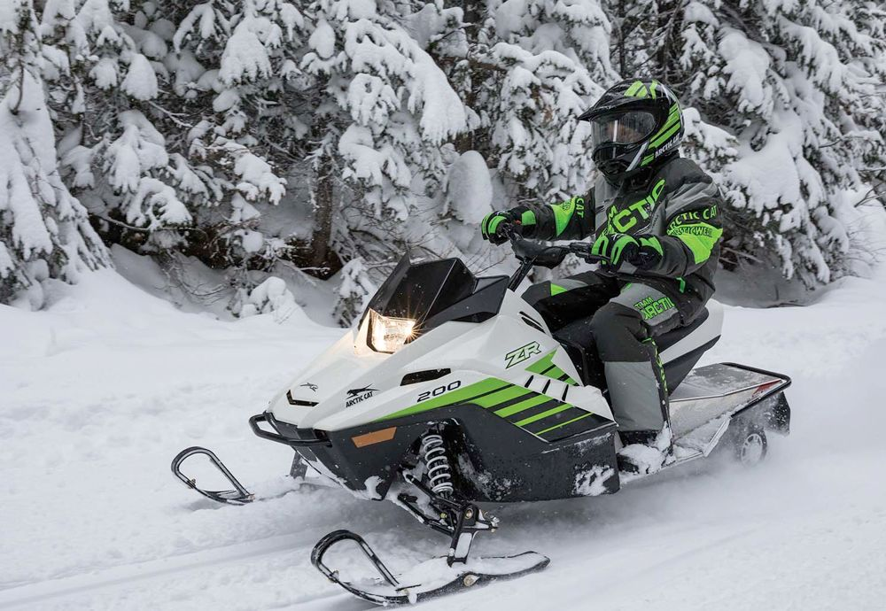 2018 Arctic Cat ZR 200: ArcticInsider Snowmobile of the Year.