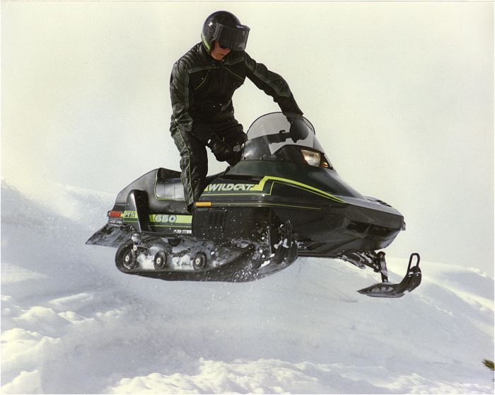 Hollywood goes big on a 1988 Arctic Cat Wildcat.
