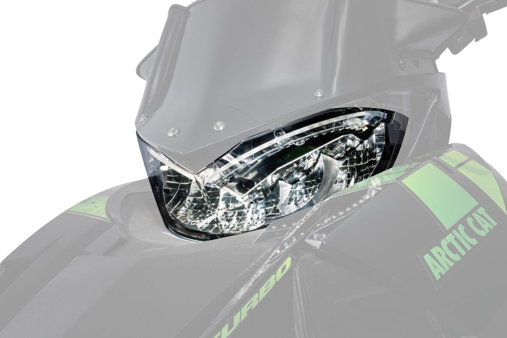 Arctic Cat LED headlight.