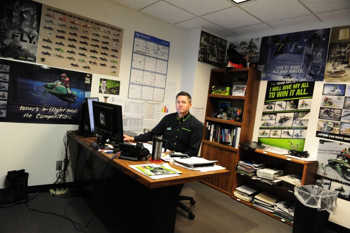 Arctic Cat's Troy Halvorson, Snowmobile Engineering. Photo by ArcticInsider.com